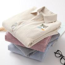 shirt Beige [Plush] red [Plush] blue [Plush] gray [Plush] Beige [regular] red [regular] blue [regular] gray [regular] SMLXL Fall 2017 Long sleeves