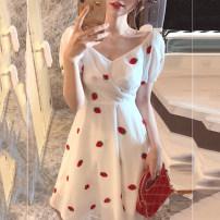 Tie clip Strawberry dress s strawberry dress m strawberry dress l strawberry Dress XL other Soaino Winter 2020