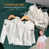 shirt Vertical bar net collar, baby tuck collar, Embroidered Baby collar, lace collar, lace collar, college lapel luson female 80, 90, 100, 110, 120, 130, 140 spring Long sleeves Simplicity Solid color other Cotton 92.2% polyurethane elastic fiber (spandex) 7.8% GLC1002A Class A