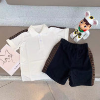 suit Other / other White Polo, blue polo, pink polo, shorts 90cm,100cm,110cm,120cm,130cm,140cm,150cm,160cm neutral No season Chinese Mainland