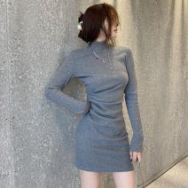 Scarf / silk scarf / Shawl Rayon Black [S] black [M] black [l] black [XL] gray [S] gray [M] gray [l] gray [XL] Solid color Ou Yulin 8020X5qt Winter 2020