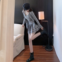 glove other Suspender + cardigan + skirt suspender + cardigan [single piece] skirt S M L Ou Yulin Spring 2021