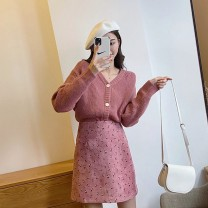 Women's large Autumn 2020 Picture color two piece set S M L XL Ou Yulin Polyester 80% other 20% Pure e-commerce (online only)
