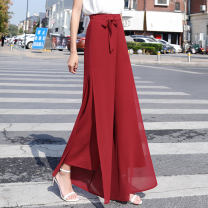 Casual pants Xt-2029-red-elastic back waist xt-2029-black-elastic back waist xt-2026-red-right zipper xt-2026-black-right zipper XS S M L XL 2XL 3XL 4XL collection added to the shopping cart is preferred to ship, this item should not be photographed Summer 2020 trousers Wide leg pants High waist