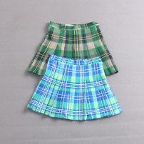 skirt Summer 2021 XS,S,M,L Green, blue Short skirt