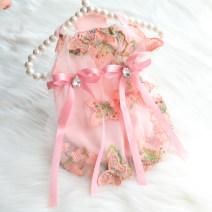 Pet clothing / raincoat currency Dress Fyongpet / Fengyong Beibei princess