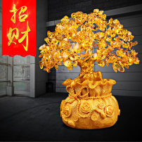 Ornaments Resin plant Modern Chinese Desktop Decoration living room Other Lucky ZCS