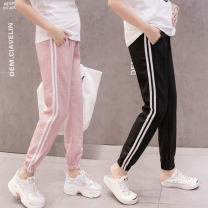 Maternity Pants / belly pants thin Other / other Light grey, pink, black M,L,XL,XXL Four seasons trousers Abdominal support leisure time Whole stage nothing