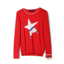 Wool knitwear Spring 2021 Black, red Long sleeves singleton  Socket other More than 95% Regular routine Low crew neck routine Socket 9m 25-29 years old 9 Charms