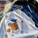 Handkerchief Black m black l Black XL White m white l White XL Blue m blue l Blue XL solid T-shirt m solid T-shirt l solid T-Shirt XL Huishu Summer 2021