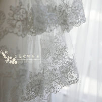 Lace / lace European style Ivory white + silver car bone, one for one meter Taidao cloth industry Lace
