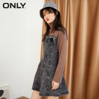 Dress Winter 2020 J0z denim grey 155/76A/XS,160/80A/S,165/84A/M,170/88A/L,175/92A/XL Short skirt 18-24 years old ONLY