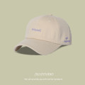 Hat cotton Adjustable (55-59cm) Baseball cap Spring and summer currency leisure time Young lovers dome Wide eaves 15-19 years old, 20-24 years old, 25-29 years old alone Shopping other Suoaiyi / Soleil Spring 2021 no
