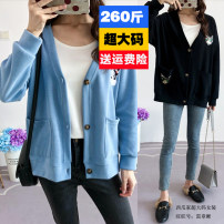 Wool knitwear Autumn of 2019 3XL,4XL,5XL,6XL,7XL,8XL Black, blue other 81% (inclusive) - 90% (inclusive) 18-24 years old Stitching, embroidery