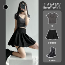 skirt Summer 2021 XS S M L XL XXL Short skirt commute High waist Pleated skirt Solid color Type A 18-24 years old XW20710 More than 95% other LOANNINA other zipper Korean version Other 100% Same model in shopping mall (sold online and offline) 161g / m ^ 2 (including) - 180g / m ^ 2 (including)