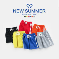 trousers Other / other male 90cm,100cm,110cm,120cm,130cm summer shorts leisure time No model Sports pants Leather belt middle-waisted cotton Don't open the crotch Other 100% Class B 3, 4, 5, 6, 7