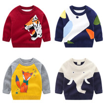 Sweater / sweater Size 90 is suitable for 90cm height, size 100 is suitable for 100cm height, Size 110 is suitable for 110cm height, Size 120 is suitable for 115cm height, and Size 130 is suitable for 125cm height cotton neutral Other / other leisure time No model Socket routine Crew neck nothing