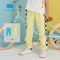 trousers Les enfants male 80/1Y,90/2Y,100/3Y,110/4Y,120/6Y,130/8Y Blue, light mustard spring and autumn trousers leisure time There are models in the real shooting Casual pants Leather belt middle-waisted cotton Open crotch Other 100% A2E1010007 A2E1010007 Spring 2021