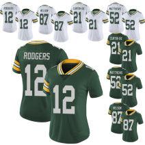 RUGBY WEAR 12 # green, 12 # white, 87 # green, 87 # white, 21 # green, 21 # white, 52 # white, 52 # green S,M,L,XL,XXL,XXXL NFL