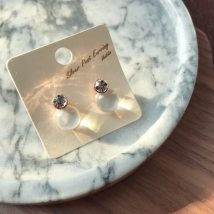 Ear Studs Silver ornaments 30-39.99 yuan Other / other Blue - Pink White 925 Silver