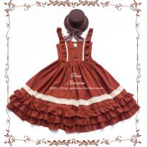 Dress Spring of 2019 Black, brick red, light khaki, light denim, gray blue, gray pink, pumpkin S,L,M 30% and below other