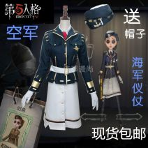 Cosplay women's wear suit goods in stock Over 14 years old Air force, naval honor guard, pistol game 50. M, s, XL, customized Chinese Mainland Gothic style, imperial sister fan, otaku style, Republic of China style The fifth personality