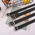 Belt / belt / chain Pu (artificial leather) currency belt leisure time Single loop Pin buckle other soft surface 3.2cm alloy Wet beauty 105cm Autumn and winter 2018