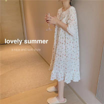Outdoor casual suit home daily female 201-500 yuan 160(M),165(L),155(S) Picture color summer YK8910060 cotton