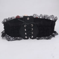 Belt / belt / chain Pu (artificial leather) Camel black white female Waistband Sweet Single loop other soft surface alloy Duohuitu Spring and summer 2011