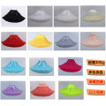 skirt Spring of 2018 Super canopy hexagonal net (40cm) White, red, khaki, light gray, black, light green, light yellow, rose red, light purple, beige, snow tooth, hole blue, this white, fruit green Middle-skirt Sweet Fluffy skirt Solid color 71% (inclusive) - 80% (inclusive) other cotton