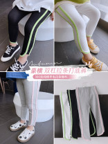 trousers Other / other female 5 / 90 (recommended height 85-95cm), 7 / 100 (recommended height 95-100cm), 9 / 110 (recommended height 105-110cm), 11 / 120 (recommended height 110-115cm), 13 / 130 (recommended height 115-125cm), 15 / 140 (recommended height 125-130cm) Black, gray, white trousers other