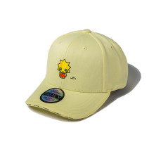 Hat cotton Light yellow Adjustable Baseball cap Spring, summer, autumn currency leisure time Youth, lovers, youth dome 15-19, 20-24, 25-29 Embroidery Travel Flat eaves THE SIMPSONS SPACP182957U