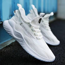 Low top shoes 39,40,41,42,43,44 Other / other White, black, khaki other Textile Flat bottom Flat heel (1cm or less) Shallow mouth cloth Spring 2021 Frenulum leisure time Injection pressure shoes Youth (18-40 years old), middle age (40-60 years old) Color matching PVC Single shoes Shallow mouth motion