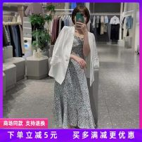 suit Summer 2021 Pearl white suit, suspender skirt 155/80A,160/84A,165/88A three quarter sleeve routine routine 3C4112761 'Seifini / Shi Fanli