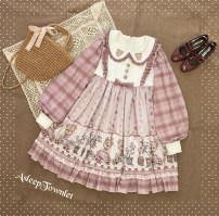Lolita / soft girl / dress Sleepy town 50. M, s, XL30 pieces in a group No season Gothic, Lolita, soft girl