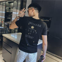 T-shirt A270 tiger wolf tx92dx Cotton 85% polyurethane elastic fiber (spandex) 15% Spring 2021 Pure e-commerce (online sales only) youth routine tide Short sleeve Youth fashion Self cultivation routine Other leisure Tiger Wolf Crew neck summer other other Fashion brand other other M L XL 2XL 3XL