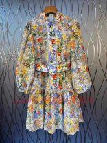 Dress Autumn 2020 Blue, orange S,M,L