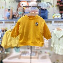 T-shirt Ye yellow purchasing agent, ye yellow (delivery within 48 hours) moimoln 90 for about 75cm, 100 for about 85CM, 110 for about 95cm, 120 for about 105cm neutral spring and autumn Long sleeves Crew neck Korean version No model nothing other other Other 100% M211TSB09P Class B other