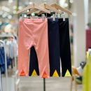 trousers moimoln neutral 90 for about 75cm, 100 for about 85CM, 110 for about 95cm, 120 for about 105cm, 130 for about 115cm CR orange pink, BK black, Dr gray blue, Cr orange pink (48 hours delivery) summer Cropped Trousers Korean version No model Casual pants Leather belt middle-waisted other