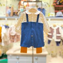 Jumpsuit / climbing suit / Khaki moimoln Class A neutral Na dark blue purchasing, Na dark blue (48 hours delivery) 70 for 55 cm, 80 for 65 cm and 90 for 75 cm other spring and autumn Long sleeves Long climb Korean version No model nothing Socket M211ANN28P Freshmen, 3 months, 6 months, 12 months