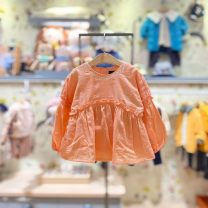 shirt Or orange, or orange (48 hours delivery) moimoln female 100 for about 85CM, 110 for about 95cm, 120 for about 105cm, 130 for about 115cm spring and autumn Long sleeves Korean version other other Other 100% M211BLG28P Class B