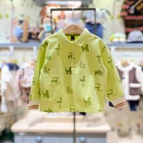 T-shirt Li green purchasing agent, Li green (delivery within 48 hours) moimoln 100 for about 85CM, 110 for about 95cm, 120 for about 105cm, 130 for about 115cm male spring and autumn Long sleeves other Korean version No model nothing other other Other 100% M211TSG13P Class B other