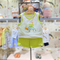Underwear set Li green purchasing agent, Li green (delivery within 48 hours), Li green (now pre-sale, arrival on April 26) Other 100% other moimoln summer neutral Class A M212NNH33P 12 months, under 1 year old, 18 months, 2 years, 3 years old Korean version