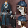 Cosplay men's wear suit Customized Freewind design studio Over 14 years old Kadanhuang fabric clothing [including accessories], the final payment of 0491 Animation, games Tailor made