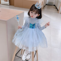 Dress female Seven Star Road 90cm 100cm 110cm 120cm 130cm Collection Plus purchase priority Other 100% spring and autumn princess Long sleeves other cotton Fluffy skirt Class B Spring 2020 12 months, 9 months, 18 months, 2 years, 3 years, 4 years, 5 years, 6 years, 7 years, 8 years
