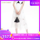 skirt Spring 2020 XS S M L XL XXL Benbai 888 longuette commute High waist Cake skirt Solid color Type A 25-29 years old More than 95% Coven Garden nylon Simplicity Polyamide fiber (nylon) 100% Same model in shopping mall (sold online and offline)