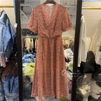 Dress Spring 2021 Picture color 1 S,M,L Mid length dress singleton  street Other / other 51% (inclusive) - 70% (inclusive) other