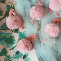 Key buckle other Flamingo and unicorn