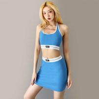 Fashion suit Summer 2021 S,M,L blue 18-25 years old KLIOU K20S11321 91% (inclusive) - 95% (inclusive) cotton