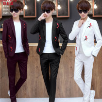 Suit Youth fashion Osuralol white M routine OSL10508300 Polyester 80.2% viscose 19.8% Spring of 2018 Pure e-commerce (online only)